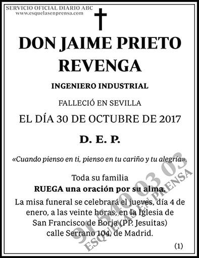 Jaime Prieto Revenga